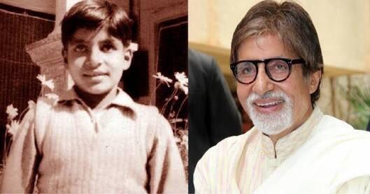 Big B, Amitabh Bachchan!
