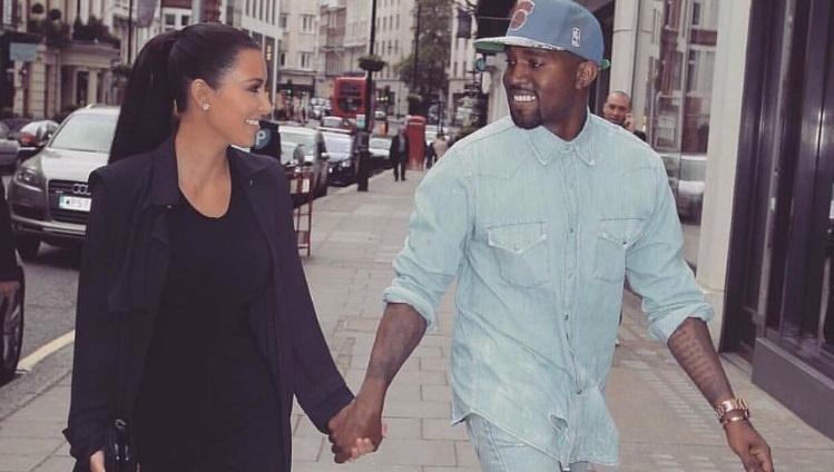Kim Kardashian and Kanye West !