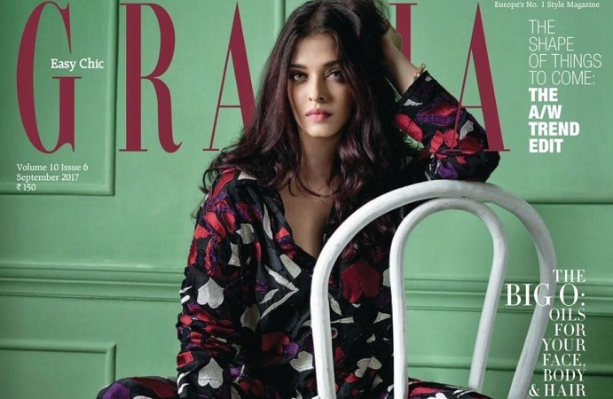 Grazia India featured Aishwarya Rai Bachchan as Cover Girl for their  edition, the