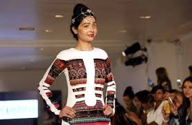 Reshma Qureshi steals the show for Jaheena at Crocs Mysore Fashion Week 2017