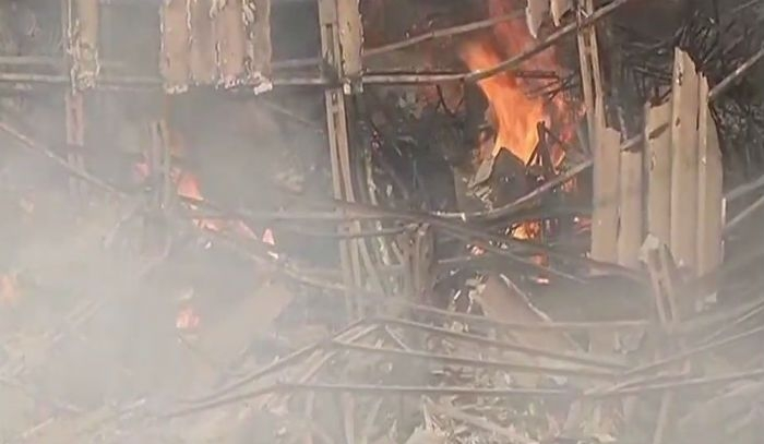 Fire Breaks Out At RK Studio In Chembur Mumbai