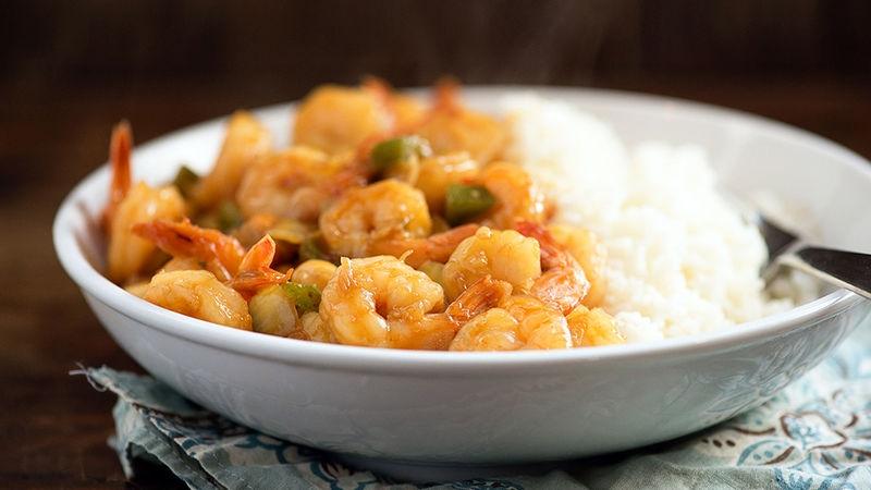 Easy Kung Pao Shrimp