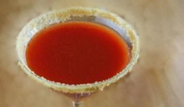 Bell Pepper Tequila Margarita