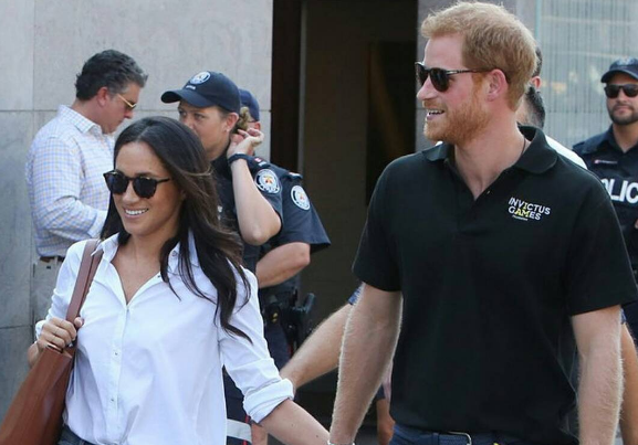 Prince Harry and Meghan Markle marked their first official appearance as the couple at the Invictus Games Toronto