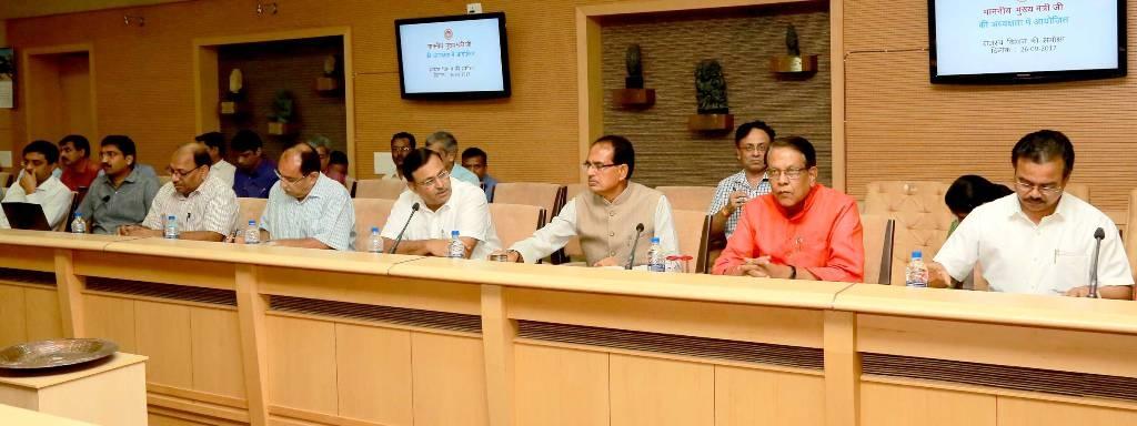 Prepare Report on Drought Status till September 30: CM Chouhan