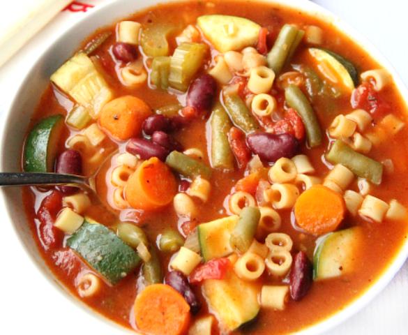 Best Crockpot Minestrone Soup