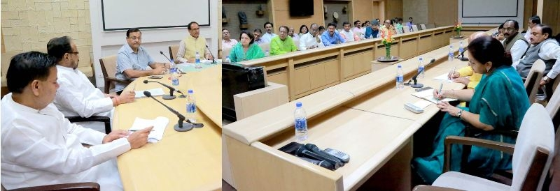 Committees should prepare roadmap by October 15 – CM Chouhan
