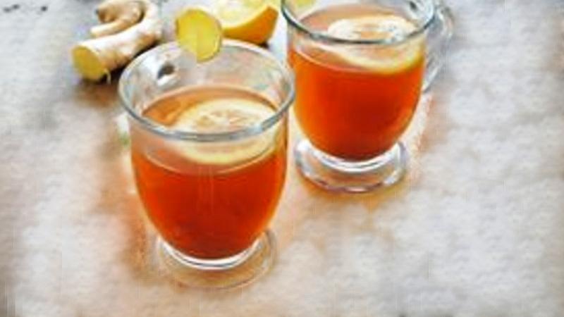 Ginger Honey Hot whiskey