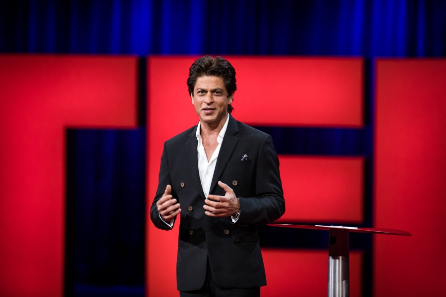 TED Talks : SRK returns to  spread love, ideas  on TV