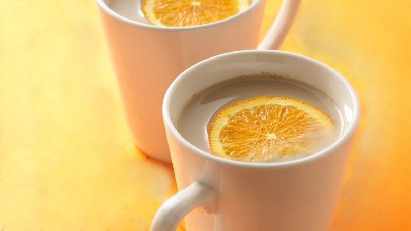 Ginger Green Tea Orange Latte