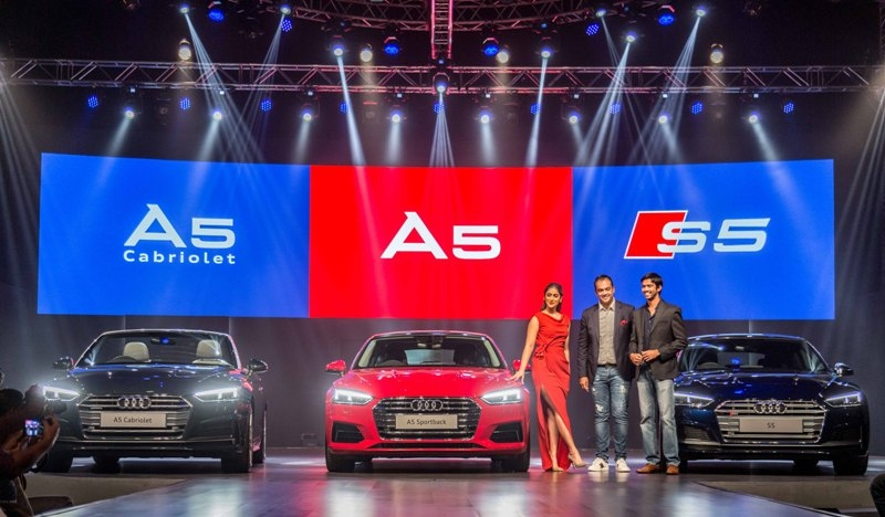 Audi, the German luxury car manufacturer, today announced the introduction  of the #A5BratPack in India