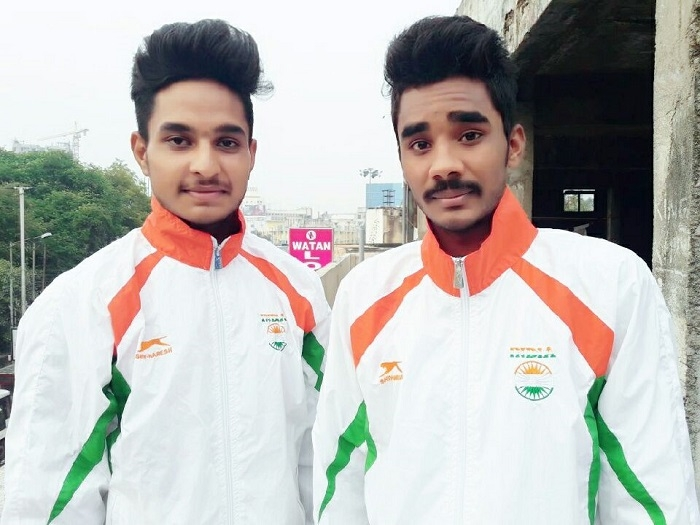 Manas and Lucky from  Madhya Pradesh Sports Academy