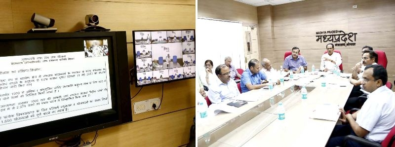 Proposed 1650 Village Tap-Water Schemes to be Started in State: CM Chouhan