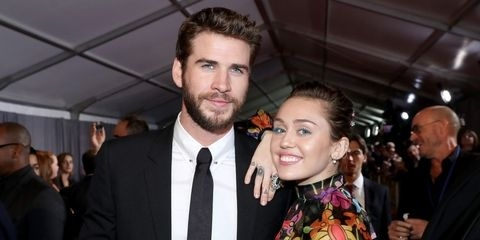 Miley, Liam Hemsworth make rare red carpet appearance