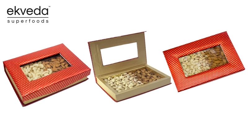 Ekveda Superfoods Introduces a Brilliant Range of Dry Fruit Gift Packs in Maharashtra for the Occasion of Diwali