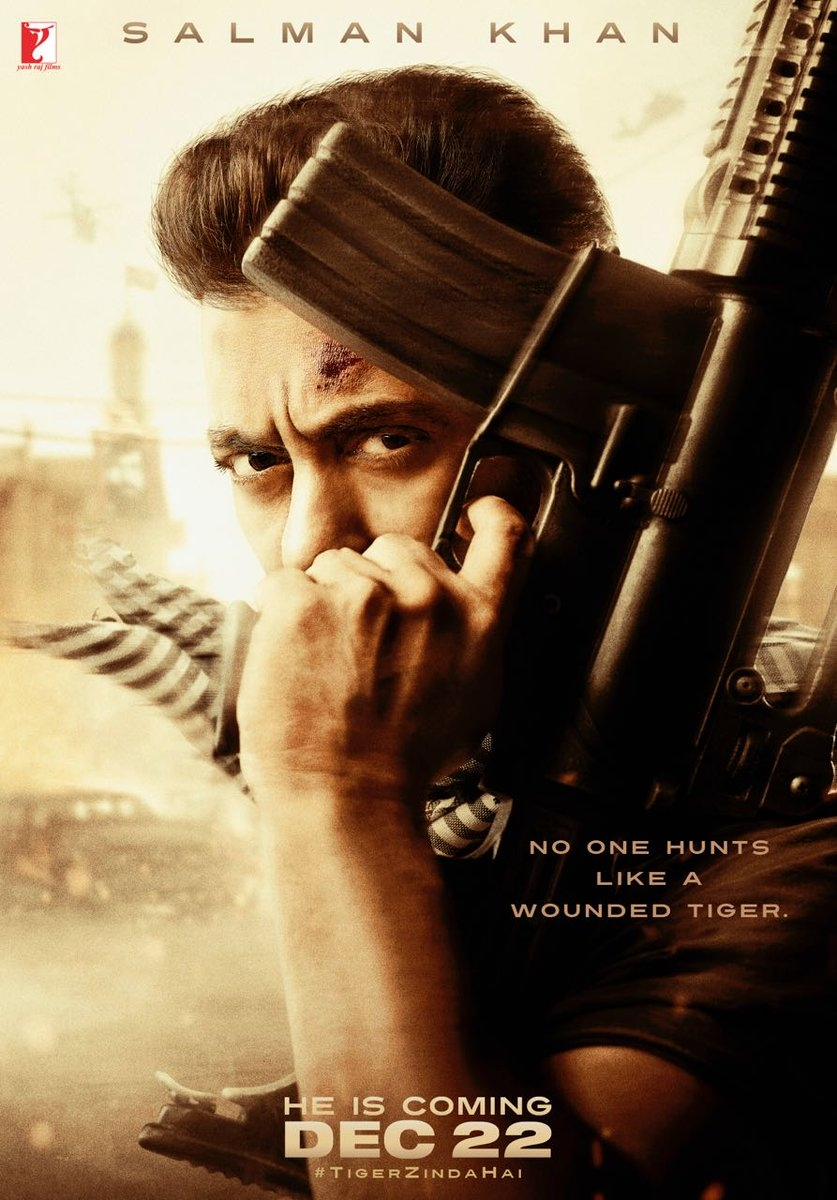 """Tiger Zinda Hai"" here is the first poster release - a Diwali Gift for Salman Khan fans!"