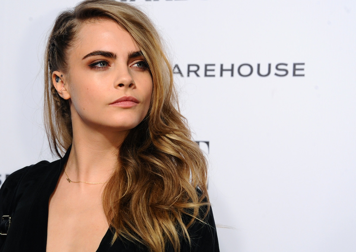 Cara Delevingne became model to escape issues