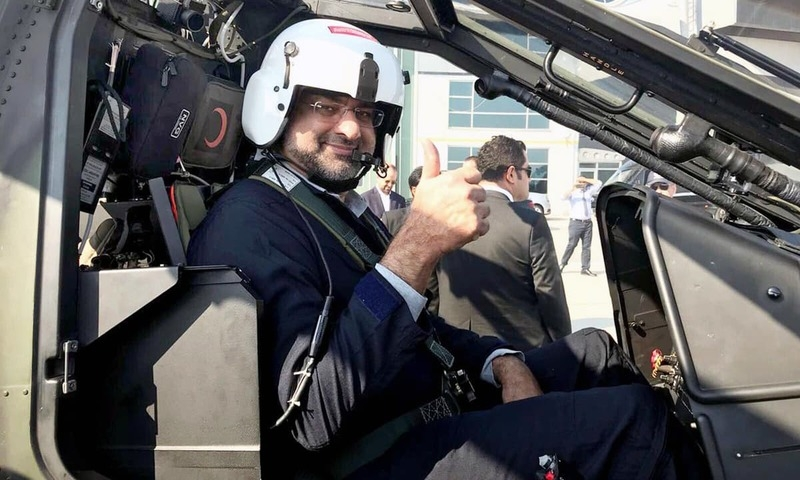 Abbasi becomes Pakistan s first PM to fly military helicopter
