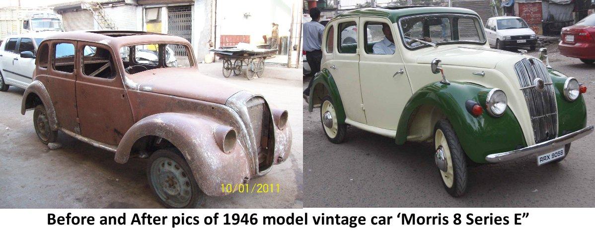 Rajan\'s Journey of restoring junk automobile to Nostalgic Gold ...